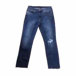 J. Crew Mercantile Distressed Jeans 0349